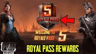 SEASON 5 ROYAL PASS Rewards | PUBG Mobile ZOMBIE MODE Confirm | New Outfits, Emotes, S5 Release Date