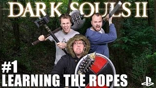 Let's Play Dark Souls II on PS3: Part One - Learning The Ropes