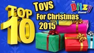 TOP 10 HOTTEST TOYS for Christmas 2015 REVEALED Shopkins Lego Dimensions Disney Frozen Minions
