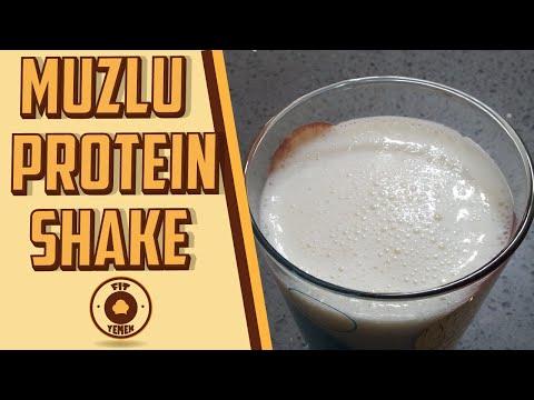 Ev Yapımı Muzlu PROTEIN SHAKE - Protein Tozsuz - FitYemek