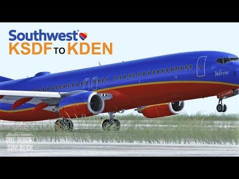 Prepar3D v4 | Baby Its Cold Outside KSDF to KDEN | PMDG 737-800 NGX