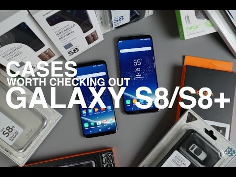 Galaxy S8 / S8+ Cases Worth Checking Out! (Giveaway)