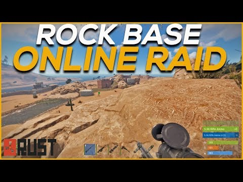 RUST | ROCK BASE ONLINE RAID thumbnail
