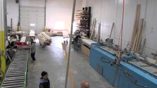 Shuffleboard Table Manufacturing: Butcher Block Playing Surface