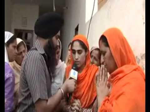 31032012 Prayers for Shaheed Jaspal Singh & family interview