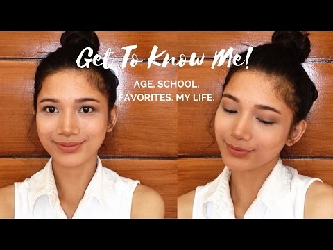 Get To Know Me Age School Course Etc  Tyra C