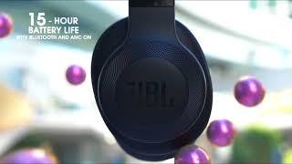 JBL E65BTNC Wireless Over-Ear Headphones