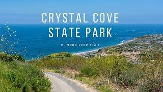 Hiking Crystal Cove State Park's El Moro Loop Trail in Laguna Beach