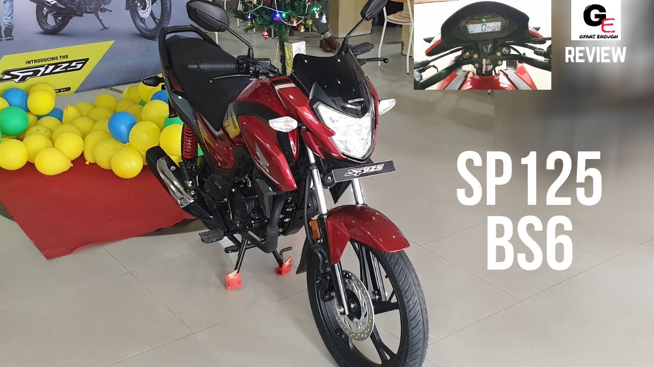 2020 Honda Sp 125 Bs6 Fi Detailed Review Features Specs