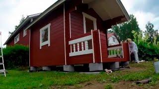 Садовый дачный домик своими руками(Как быстро и недорого можно построить садовый дачный домик своим руками. видео процесса строительства..., 2016-01-23T21:23:31.000Z)