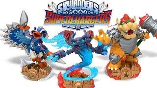 All 40 Main Skylanders and Vehicles in Skylanders: SuperChargers