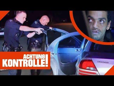 Drogenfahrt gestoppt! US-Polizei nimmt Fahrer fest! 1/3   Achtung Kontrolle   Kabel Eins