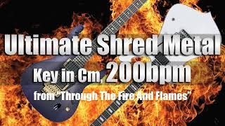 Melodic Speed Metal Backing Track in Cm