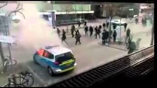 Angriffe auf das 1.Polizeirevier thumbnail
