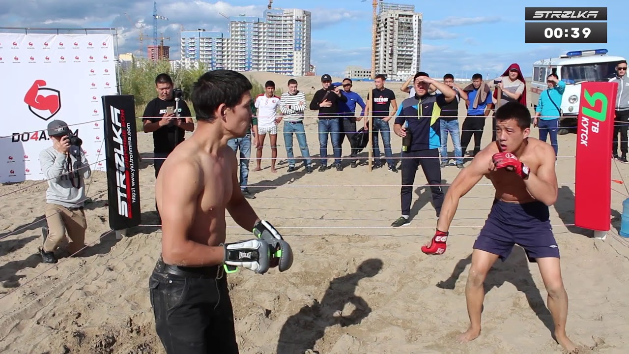 Mad Monkey vs MMA Fighter from Siberia