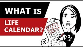 видео Календарь: 90 лет жизни в неделях