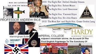 W Scott2 Azrael, Rev Cosmo, Rapalla, Prof Andrew Rice Imperial College, MI5 Manningham Buller