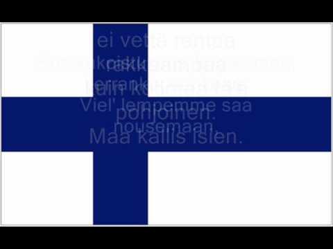 FINLANDAIS TÉLÉCHARGER HYMNE NATIONAL