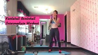 Kettlebell Bombshell Intermediate  Workout