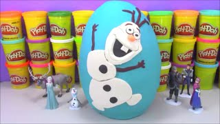 BLAZE And The MONSTER MACHINES Giant Play Doh Surprise Egg filled with Disney Cars & Monst