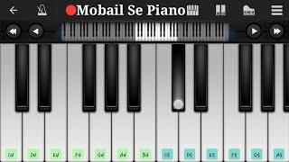 Rangabati Piano Tutorial / Odia Song /Mobail Se Piano
