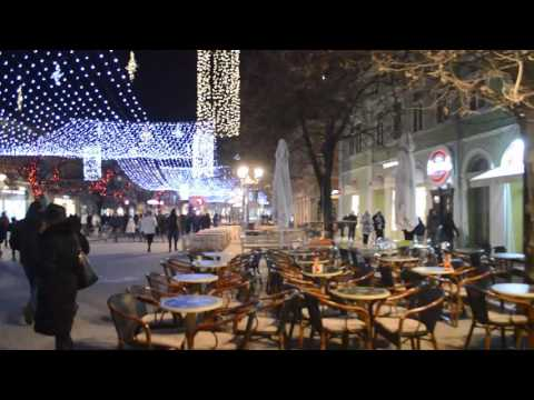 Novi Sad, Serbia on a Saturday in December 2016