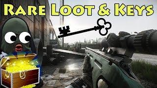 Rare Key & Loot Spawns - Escape From Tarkov