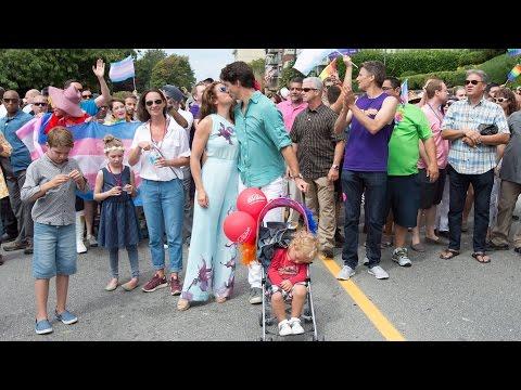 Trudeau makes history