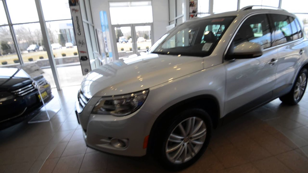 2010 Volkswagen Tiguan Sel 4motion Loaded Stk P2709