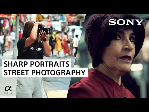 Sharp Street Photography Portraits With Eye AF Feature | Sony Alpha Universe