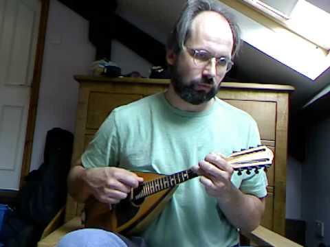 Italian mazurka: Il passo del bosco (La Ciapa Russa), on Embergher mandolin