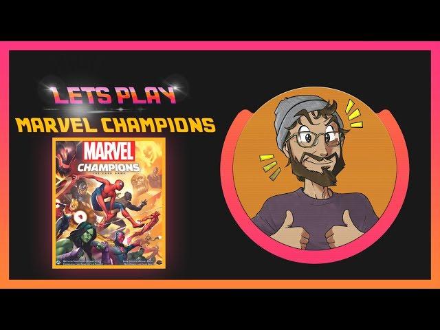[LETSPLAY] #JeuResteChezMoi avec Marvel Champions !