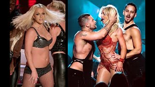 Britney Spears 2007 VMA Lazy Stripper vs. 2016 Sex Goddess