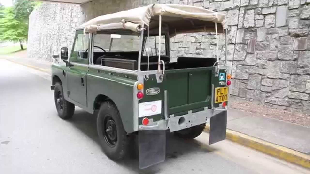 1977 land rover series iii for sale youtube. Black Bedroom Furniture Sets. Home Design Ideas