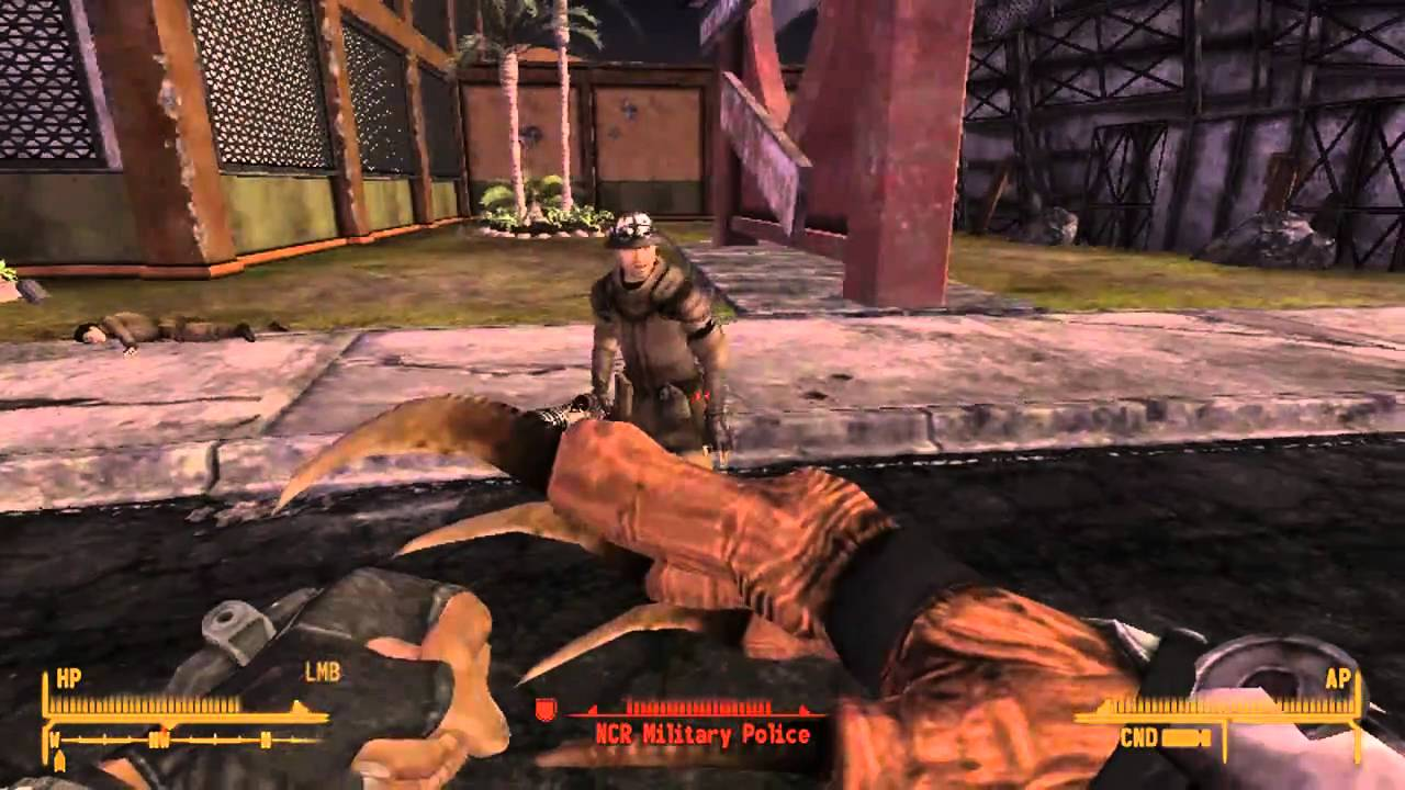 Fallout New Vegas: claw Gauntlet (PC Console Command) on