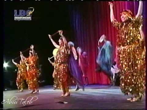 the egyptian folk dance troupe - YouTube