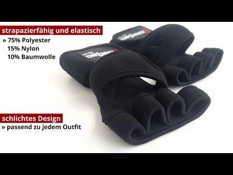 BERNING Fitness - Handschuhe Mit Handgelenkbandage