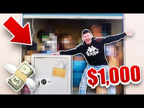 I Bought A $1000 Abandoned Storage Unit and Found This.. (ABANDONED SAFE)