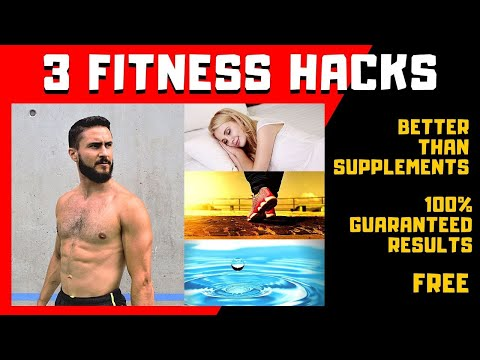 3 FREE FITNESS HACKS. Stay Healthy Outside The Gym. Easy Tips to Improve Your Body Composition