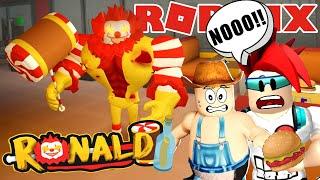 El Payaso me Atrapa en Roblox   Escapa del McDonalds Roblox   Juegos Roblox en Español