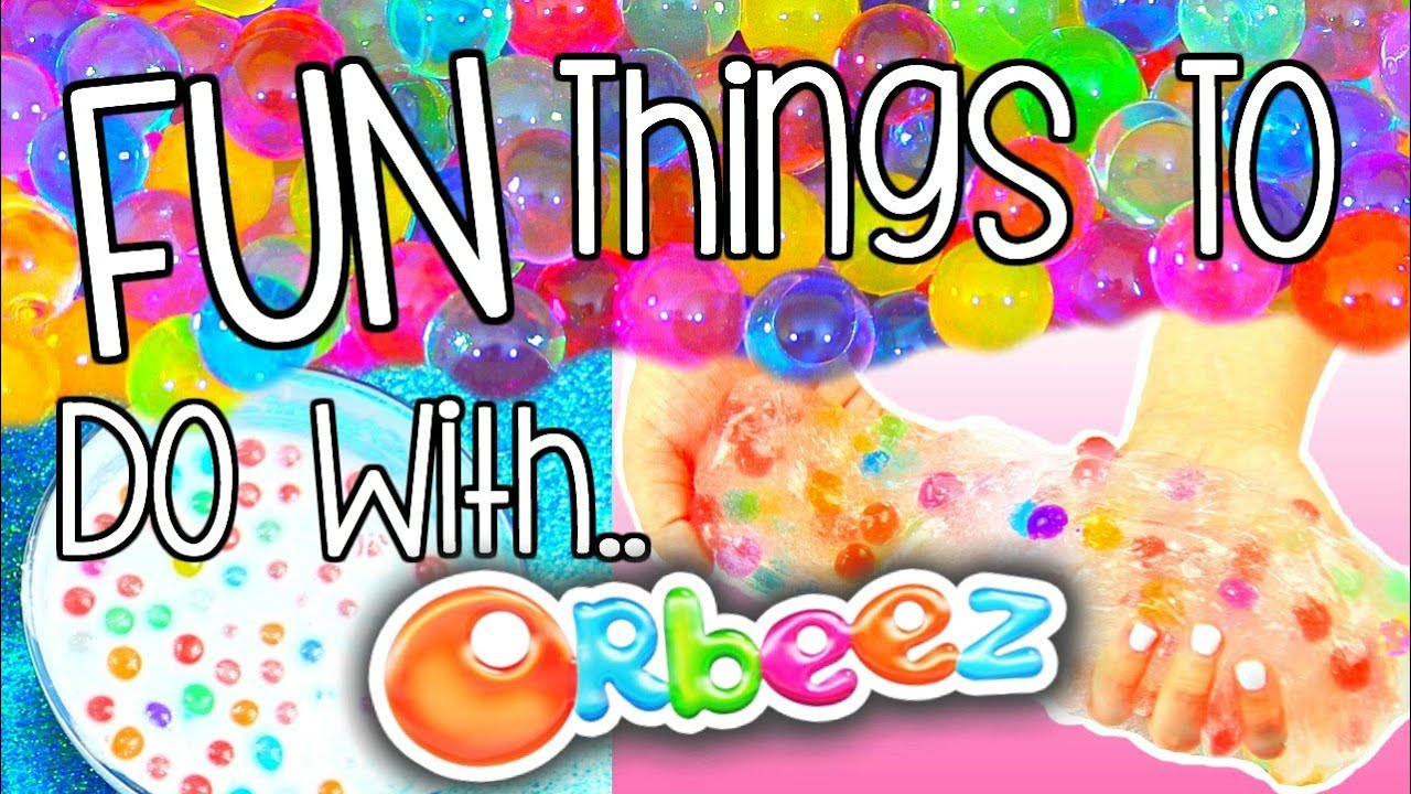DIY Orbeez  FUN THINGS TO DO WITH ORBEEZ  YouTube