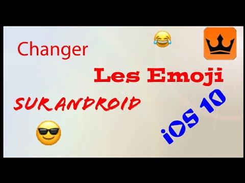 17- Comment Avoir les Emoji iOs 10 sur Android #Es_Explorateur_de_fichier