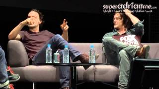 Video Andrew Lincoln & Norman Reedus Funny Moments in Singapore 00 06 24 00 07 00 download MP3, 3GP, MP4, WEBM, AVI, FLV Juli 2018