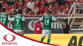 Resumen Necaxa 0 - 3 León | Apertura 2017 - Jornada 4 | Televisa Deportes