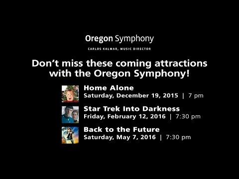Movies with the Oregon Symphony - 2015/16 Season