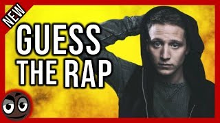 NF Rapper Guess The Rap Song In 2 Seconds Outcast, The Search, amp More!