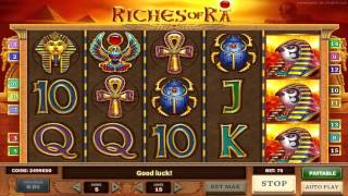 Riches Of Ra™ slot machine by Play