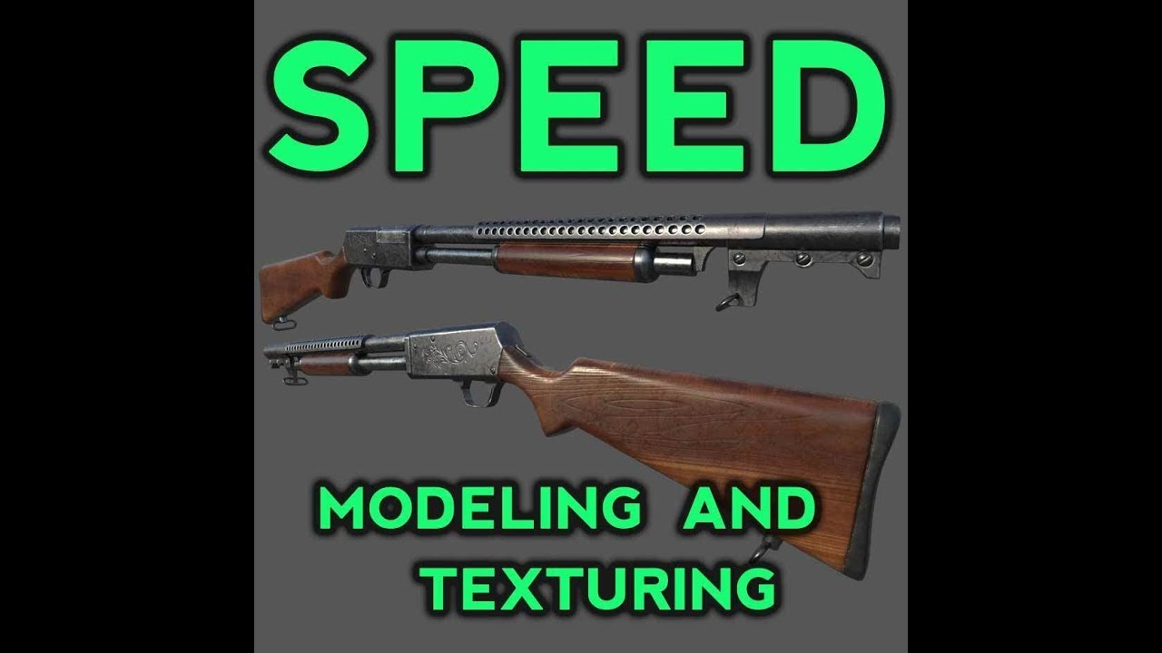 Gumroad - Speed Modeling and Texturing Zbrush