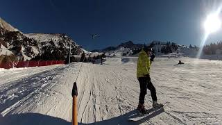 Ski resort Shymbulak Горнолыжный курорт Шымбулак Kazakhstan