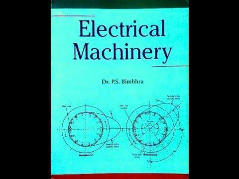 ps bimbhra electrical machines pdf